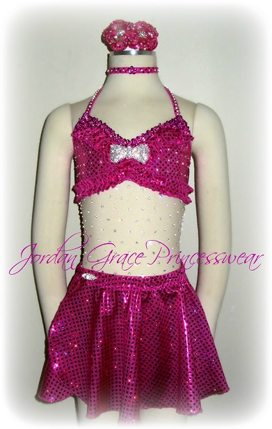 """Barbie Girl""-Jordan Grace Princesswear custom dance costume"