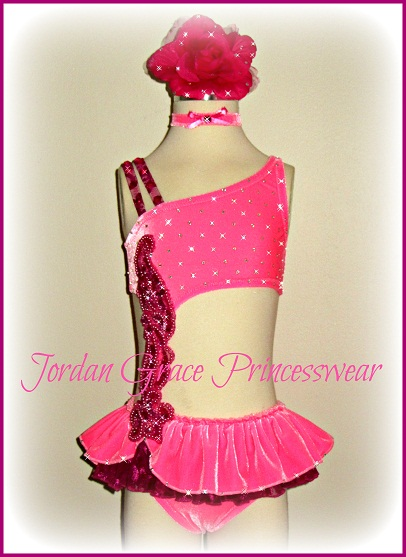 Swimwear 092-Jordan Grace Princesswear custom pageant swimwear