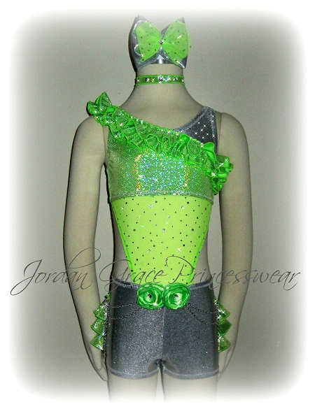 """My Momma Told Me""-Jordan Grace Princesswear custom dance costume, My Momma Told Me"