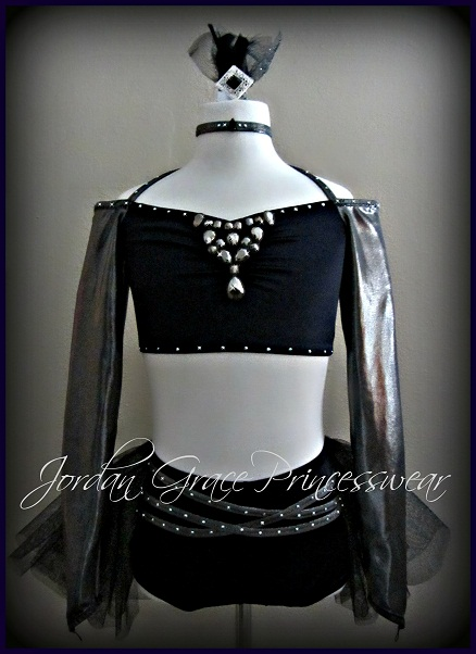 """Whip It""-Jordan Grace Princesswear custom dance costume"