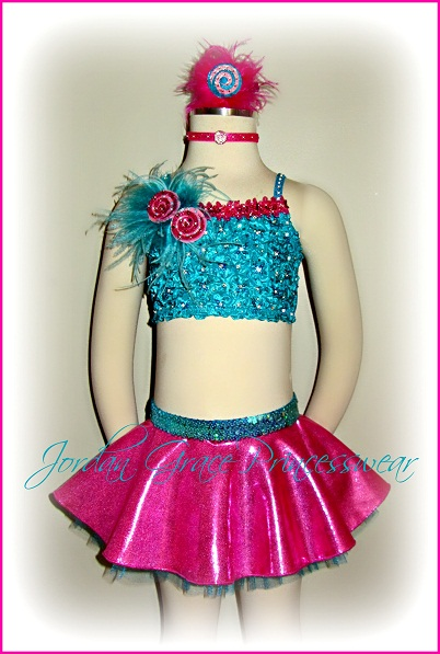 """I Want Candy""-Jordan Grace Princesswear custom dance costume, I Want Candy"