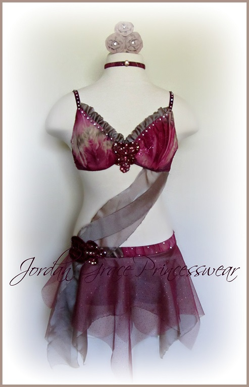 """Refugee""-Jordan Grace Princesswear custom dance costume"