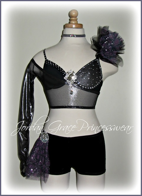 """Cracks""-Jordan Grace Princesswear custom dance costume"