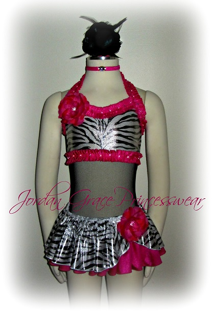Swimwear 108-Jordan Grace Princesswear custom pageant swimwear