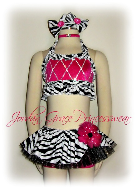 """Party Girl""-Jordan Grace Princesswear custom dance costume"