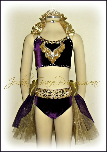 ..-Jordan Grace Princesswear custom dance costume